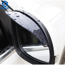 SEBTER Car Rearview Mirror Cover Rain Eyebrow Two Pairs of Screen General Thickening Vehicle Shield