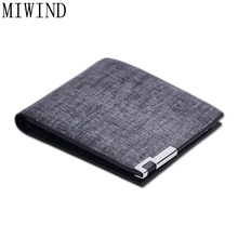 MIWIND Fashion Leather Men Wallets Hasp Men Clutch Bags Men's Wallet Business Card Holder Coin Purse For Men ClutchTXM075