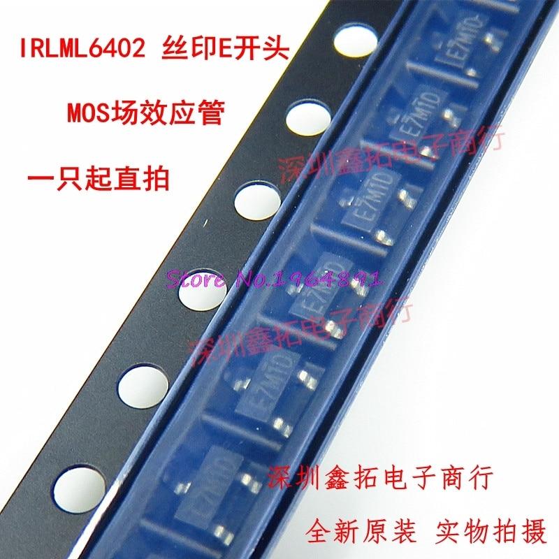 50pcs/lot IRLML6402TRPBF IRLML6402TR IRLML6402 20V 3.7A SOT-23 In Stock