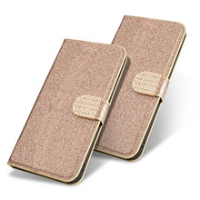 Bling Flip Case For Sony Xperia Z1 Z2 Z3 Z5 X Compact Mini Wallet Stand Phone Cover For Sony L1 L2 L3 cases(China)