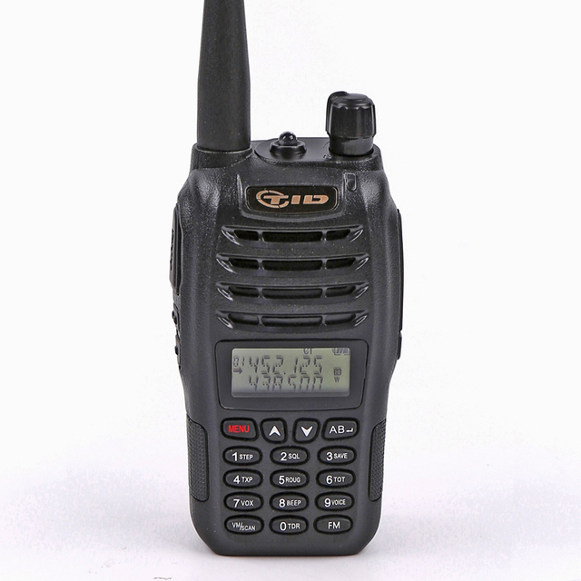 Walkie Talkie TID TD-UV90 Portable Transceiver Dual Band Two Way Radio 136-174Mhz & 400- 430Mhz