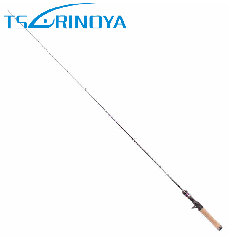 Trulinoya 1.4m EX-UL Solid Tip Baitcasting Fishing Rod Carbon FUJI Ring Lure Rods Soft Cork Handle Canne A Peche Saltwater Carp