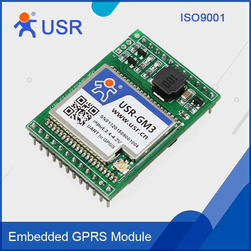 USR-GPRS232-7S3 Free Ship GPRS Serial Module UART TTL to GPRS DTU Httpd Client 5Pcs/Lot dtu serial port to zigbee wireless module cc2530 module with power amplifier over 3000 meters uart transmission