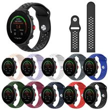 Colorful Watch Strap Replacement Soft Silicone 22mm Wristband Straps For Polar Vantage M Unisex Accessories