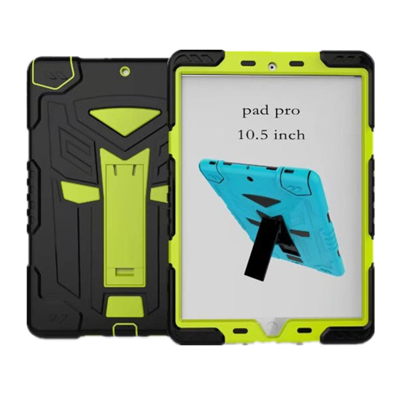 For Funda iPad Pro 10.5 Case Hybrid Rugged Rubber Hard Plastic+Silicone High Impact Shockproof Case Cover for iPad Pro 10.5