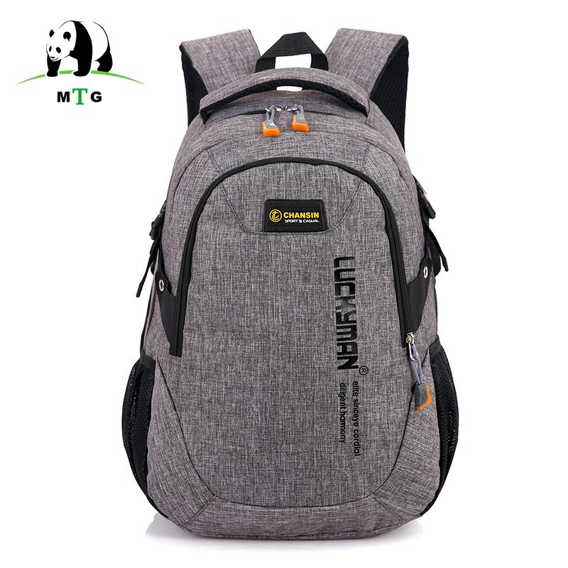 Brand Canvas Men Women Backpack Schoolbags For Teenager Boy Girls Male Escolar Laptop Travel Backpacks Mochila Rucksacks Bookbag influence of age at castration