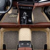 Auto fußmatten für Honda Alle Modelle CRV XRV Odyssey Jazz Stadt cross S1 CRIDER VEZEL für Accord Benutzerdefinierte fuß matten ZUBEHÖR