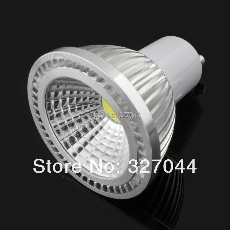 5x dimbare COB goedkope led verlichting LED spot verlichting GU10 ...