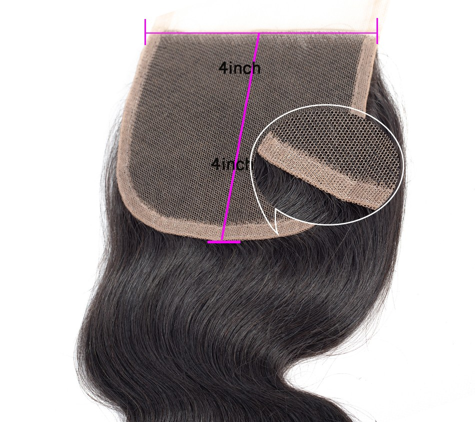 body wave with lace closure  (3)
