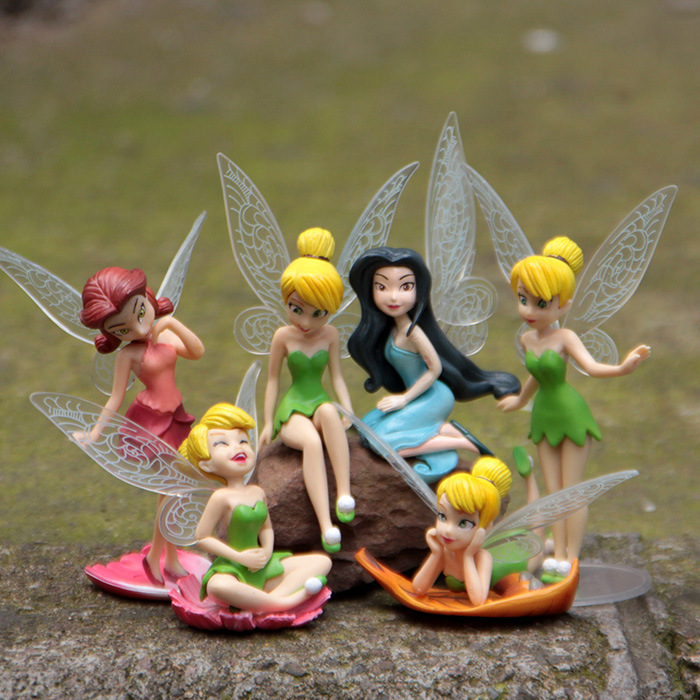 Superb Kawaii 2sets/lotu003d12pcs Resin 6 Models Fairy Garden Miniatures Princess  Crafts Miniature Fairy Figurines Garden Decoration In Figurines U0026  Miniatures From ...