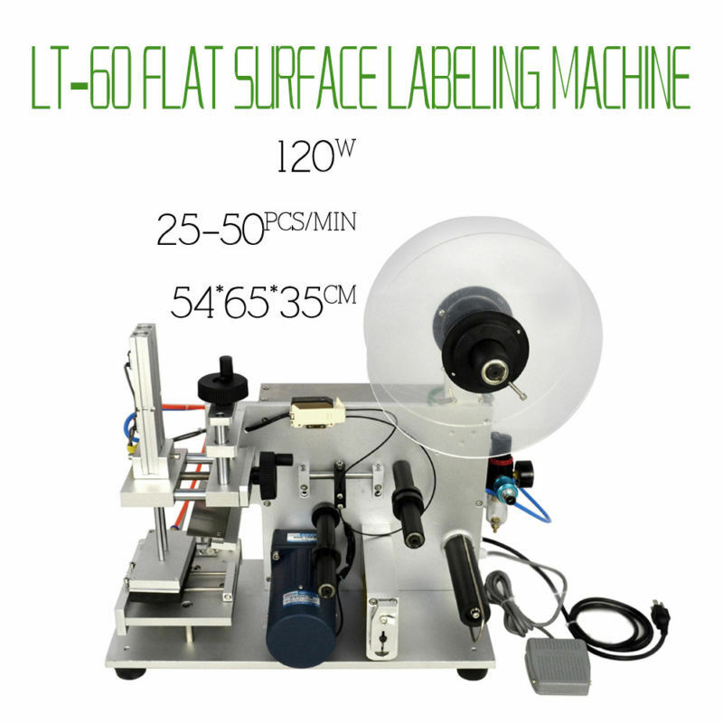 LT-60 Semi-automatic Labeling Machine Plane Flat Surface Labeller