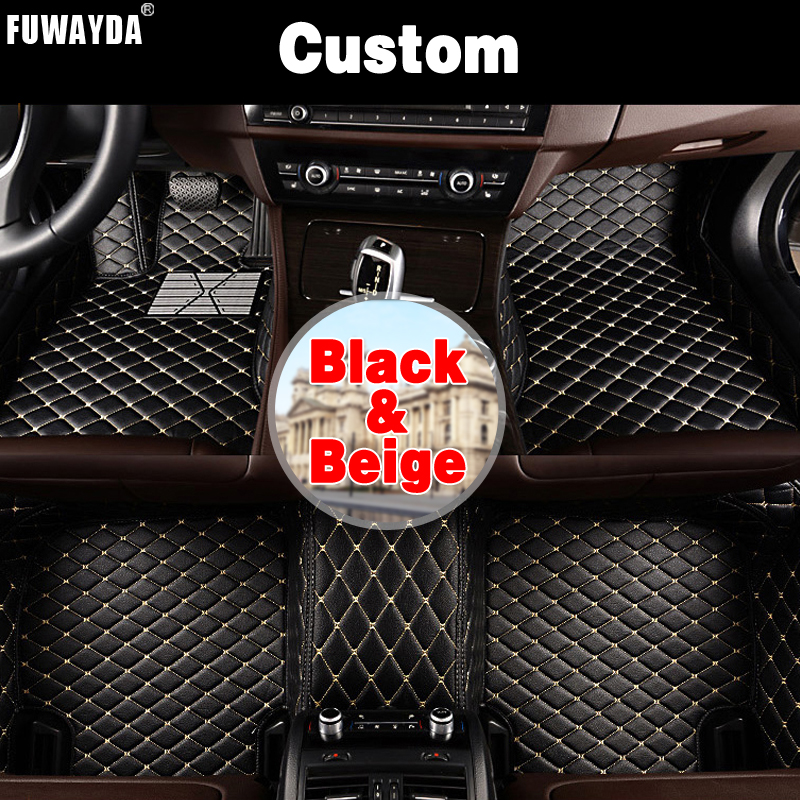 FUWAYDA Custom fit car floor mats made for New Mazda CX-5 2018 waterproof durable rugscarpets for Mazda CX5 2017 Cargo Liner for opel zafira left drive firm pu leather wear resisting car floor mats black brown grey custom made waterproof carpets