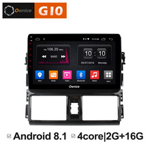 Android 8.1 Car Pad Unit Intelligent System Radio player GPS on Board Nagivation