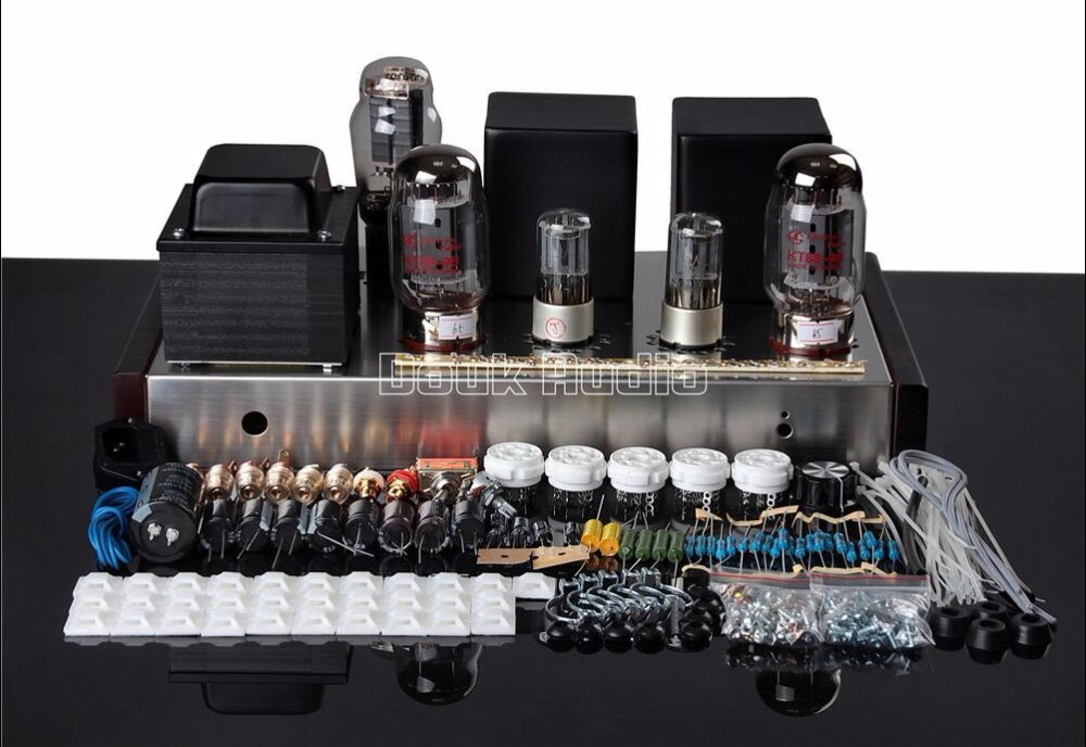 Music Hall Lastest KT88 Single-ended Class A Tube Amplifier Vacuum HiFi Single-Ended Stereo Amp 16W+16W DIY KIT music hall pure handmade hi fi psvane 300b tube amplifier audio stereo dual channel single ended amp 8w 2 finished product