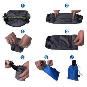 Image 4 - 8.5L składana na zewnątrz umywalka kempingowa wędkarstwo podróż piknik uchwyt na wodę torba ultralekka umywalka wiadro przenośne narzędzie survivalowe