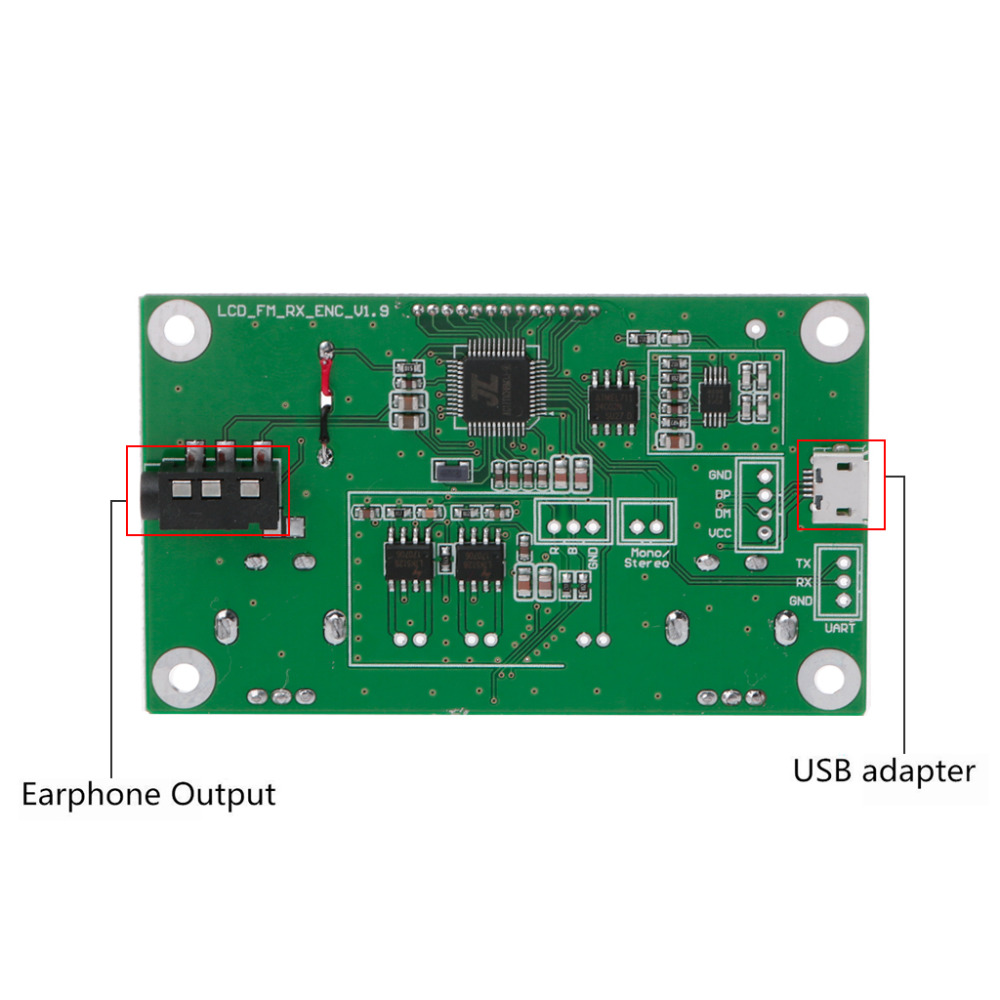 Buy 1 Pc 87 108mhz Dsppll Lcd Stereo Digital Fm Am Radio Receiver Simple Circuit Module Serial Control From Reliable Suppliers On