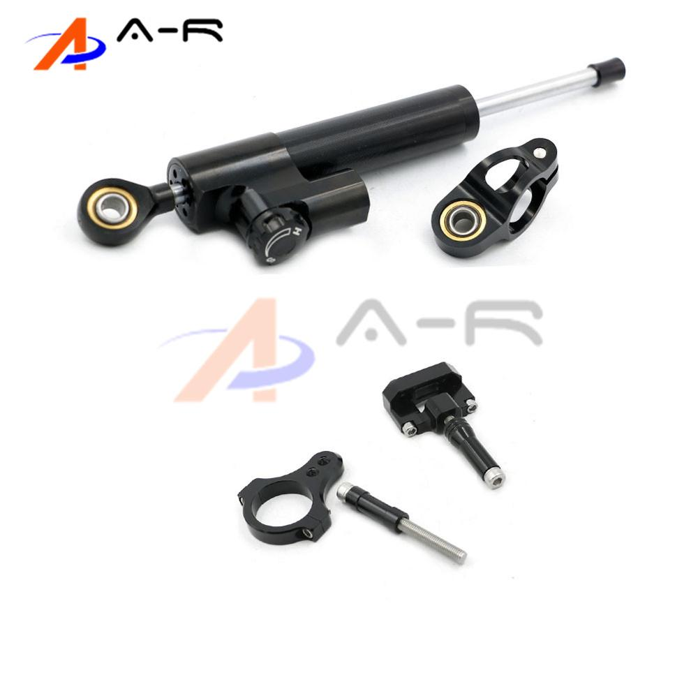 Motorcycle Aluminum CNC Direction Steering Damper Steering Mounting Kit Stabilizer Adjustable for Yamaha YZF R3 R25 2013-2016 universal new cnc aluminum motorcycle steering damper stabilizer adjustable for yamaha xsr 700 xsr700 xsr 700 xv950cr yzf r3 yzf