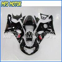ABS мотоцикла инъекций Пластик обтекатель комплект для SUZUKI GSXR 1000 2000 2002 черный