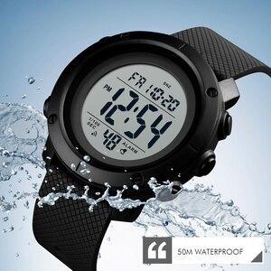 Image 2 - SKMEI أفضل الساعات الرياضية الفاخرة الرجال إضاءة مقاومة للماء ساعة رقمية موضة عادية للرجال ساعات المعصم ساعة Relogio Masculino