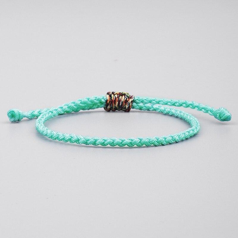Handmade Love Lucky Tibetan Bracelets /& Bangles For Women Men Knot Rope Bracelet