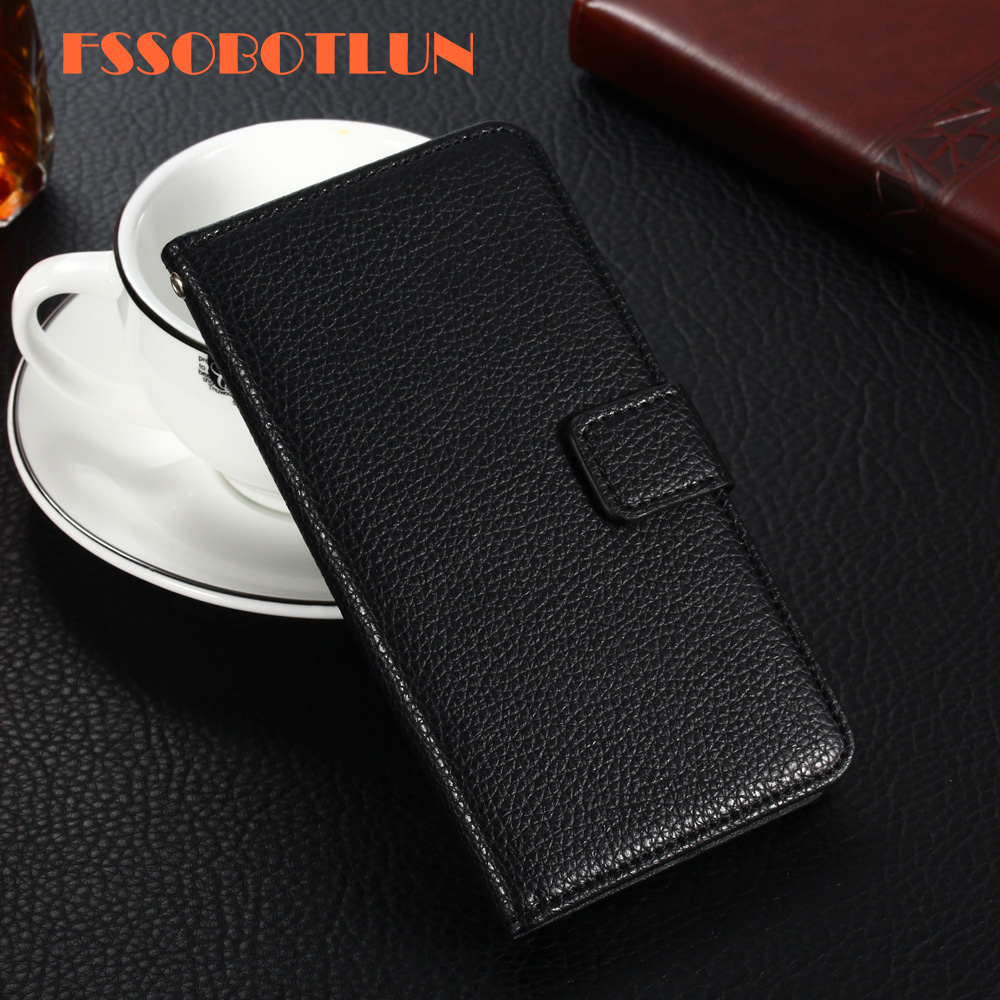 FSSOBOTLUN For <font><b>BQ</b></font> <font><b>BQ</b></font>-<font><b>6010G</b></font> Practic Case PU Leather Retro Flip Cover Shell Magnetic Fashion Wallet Cases Kickstand Strap <font><b>BQ</b></font> <font><b>6010G</b></font> image