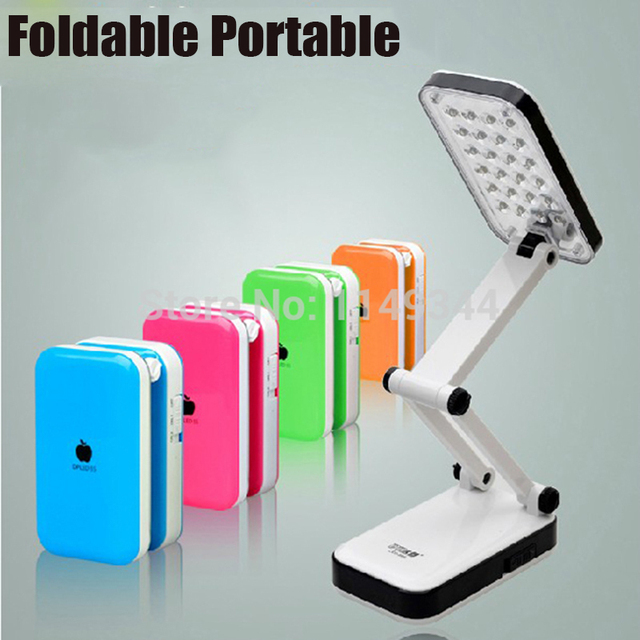 Foldable Led Desk Lamp Rechargeable Portable Switch Study Book Reading Lamps Work Table Lamps For Children Home Bedside Lighting