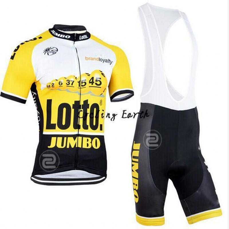 LOTTO 2018 Cycling Jersey Set Short Sleeve Summer MTB Cycling Clothing Pro Team Ropa Ciclismo Cycling Jersey And Shorts Gel Pad
