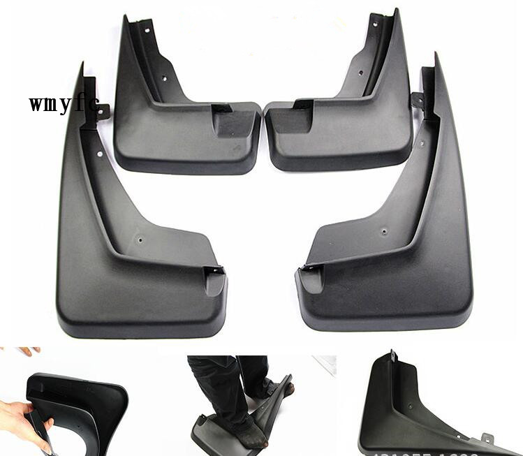 Car mudguard For 2012-2015 Land Rover Freelander 2 Sport Models Splash Guards Mud Flaps 4pcs / Set Car mudguard For 2012-2015 Land Rover Freelander 2 Sport Models Splash Guards Mud Flaps 4pcs / Set