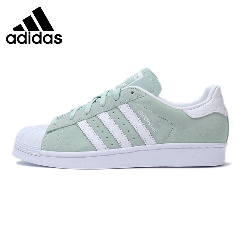 Original New Arrival 2016 Adidas Originals Superstar W Women's Classics Skateboarding Shoes Sneakers