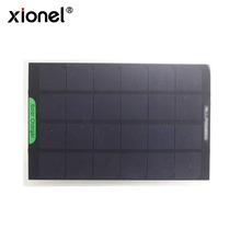 Xionel Solar Panel 9V 300ma Monocrystalline Silicon 245*175*2MM Solar Panels for DIY Light Battery Phone Toy Chargers