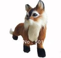 free shipping fox for home decoration fox ornament fox sculpture