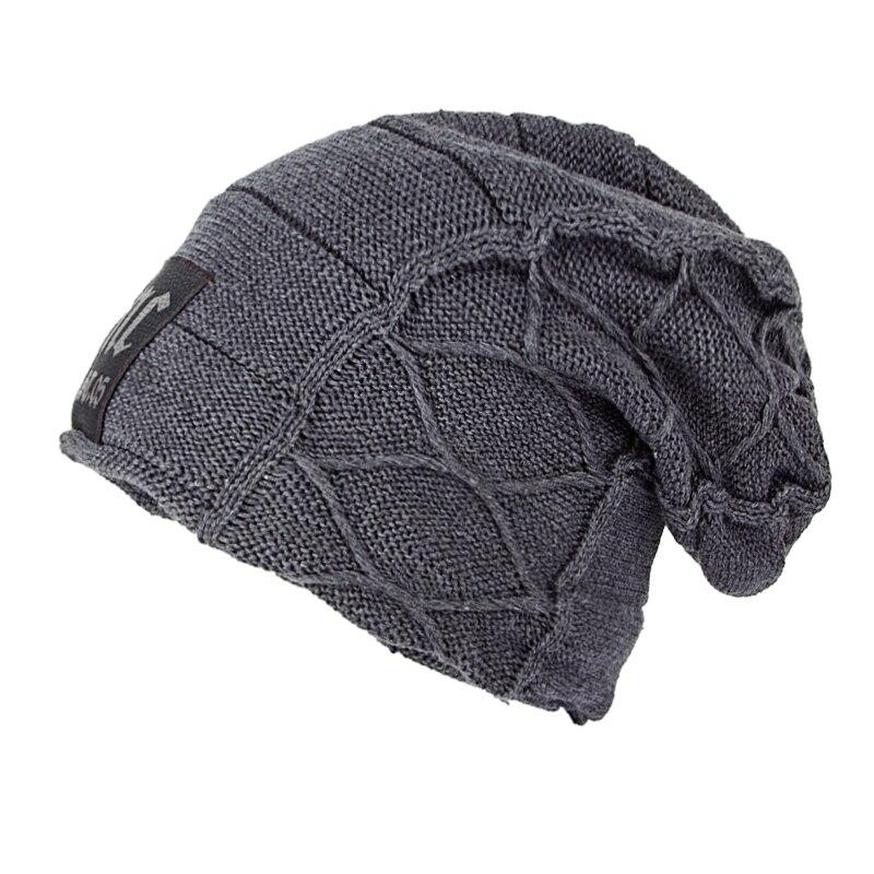 Super cool Schädel muster hüte für männer beanies Gestrickte wolle winter hüte für männer motorhaube homme beiläufige kappe winter hut hüte für frauen