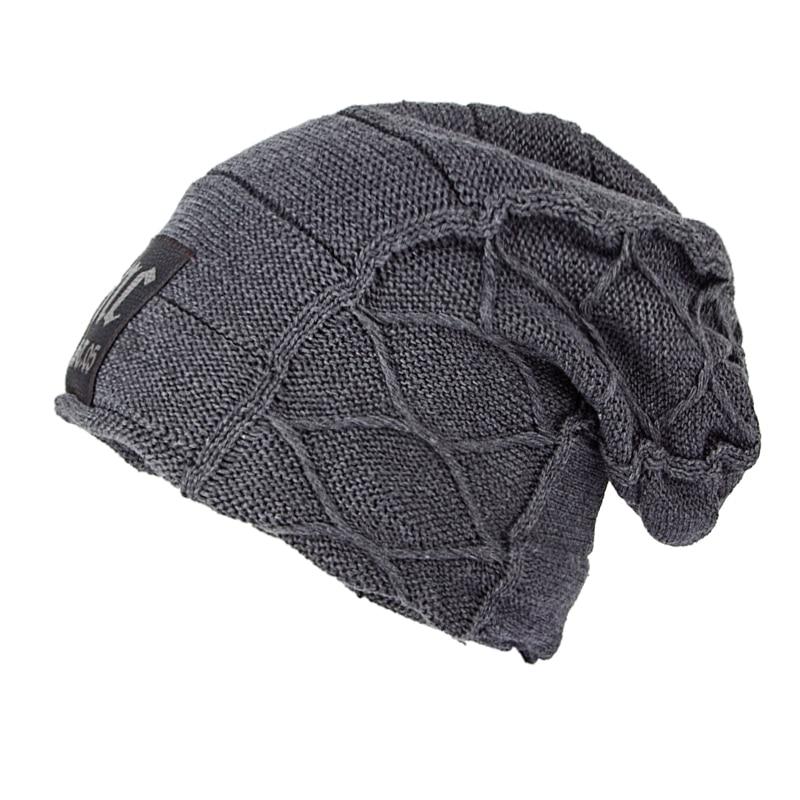 Super cool modello Del Cranio cappelli per gli uomini berretti di lana Lavorato A Maglia cappelli di inverno per gli uomini cofano homme casuale della protezione del cappello di inverno cappelli per le donne