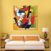 diy oil painting  Picasso Abstract digital instrument coloring by numbers guitar