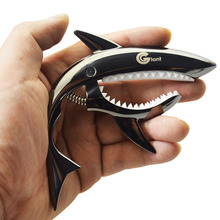 MoonEmbassy Shark Zinc Alloy Electric and Acoustic Guitar Capo Gift Accessories