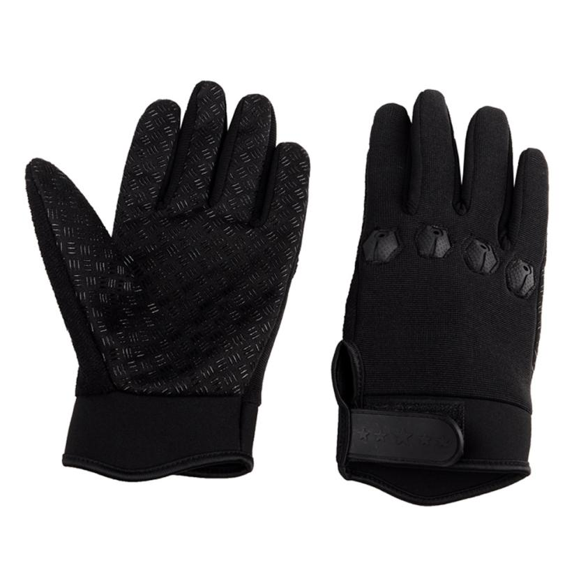 New Crochet Padded Gym Leather Gloves Training Fitness Sports Cycling Cycle Bike
