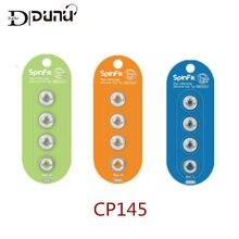 DUNU – embouts d'oreille en Silicone à Rotation libre 360 degrés, brevetés, buse de 4.5mm, Dia DUNU TFZ KZ TIN, CP100 CP800 CP220