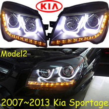 KlA Sportage headlight,2011~2014 (Fit for LHD and RHD),Free ship!Sportage daytime light,2ps/se+2pcs Aozoom Ballast