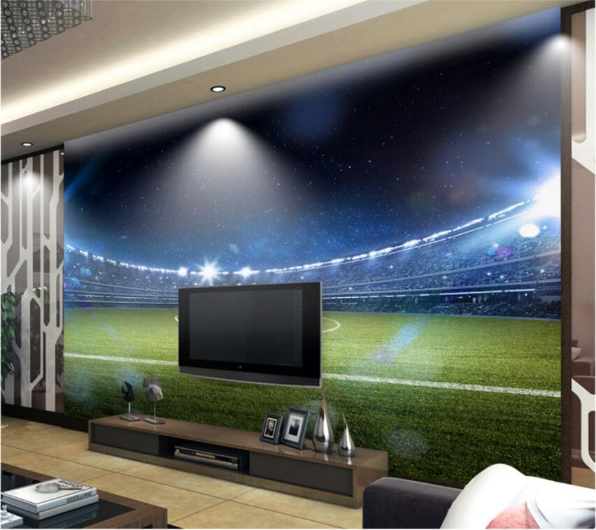 Aliexpress.com : Buy 3d Room Wallpaper Custom Mural Hd Giant Football Field  Painting Home Improvement 3d Wall Murals Wallpaper For Walls 3 D From  Reliable ... Part 58