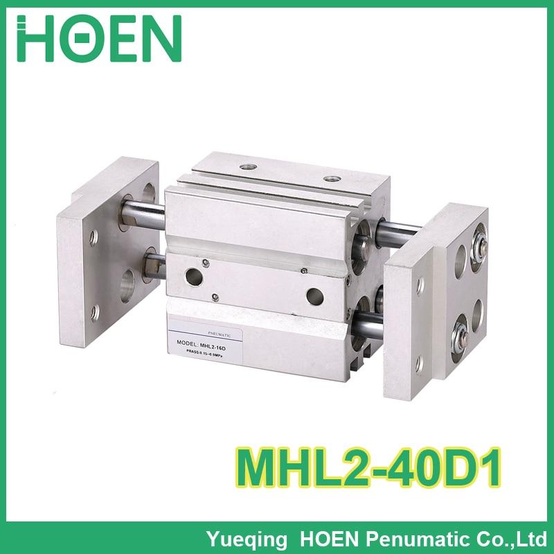 Longer Type MHL2-40D1 Arallel Style Wide Opening Air gripper Pneumatic CylinderLonger Type MHL2-40D1 Arallel Style Wide Opening Air gripper Pneumatic Cylinder