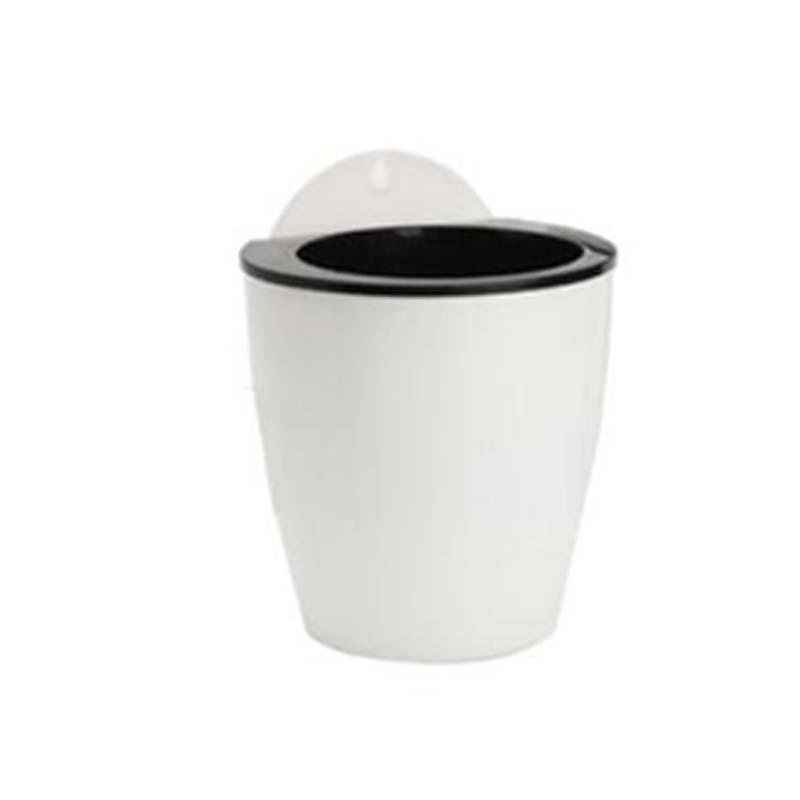 Висячий горшок для растений плантатор настенная ваза самополив автоматический самополив цветок положить в пол Сад Крытый дом деко - Цвет: M