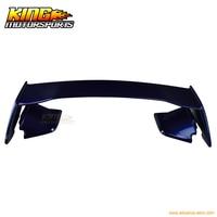 For 15 16 Impreza WRX STI Style Trunk Spoiler Painted Galaxy Blue Metallic # E8H