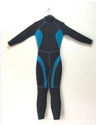 Combinaison de plongée sous-marine 3 MM en néoprène à manches longues pour femmes