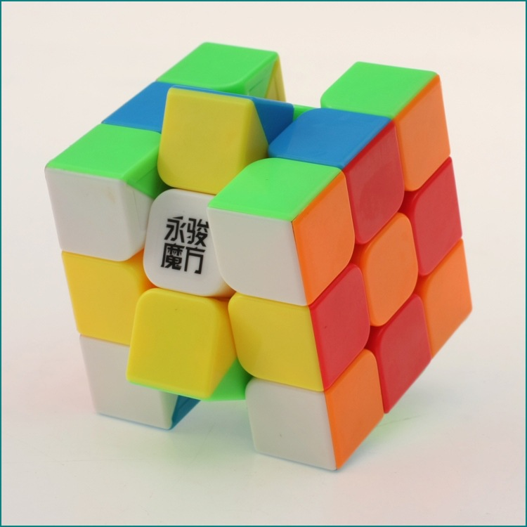 3x3x3 YJ Yongjun Magic Cube Speed ​​Cubo Square Puzzle Kiub Tiada - Teka-teki - Foto 5