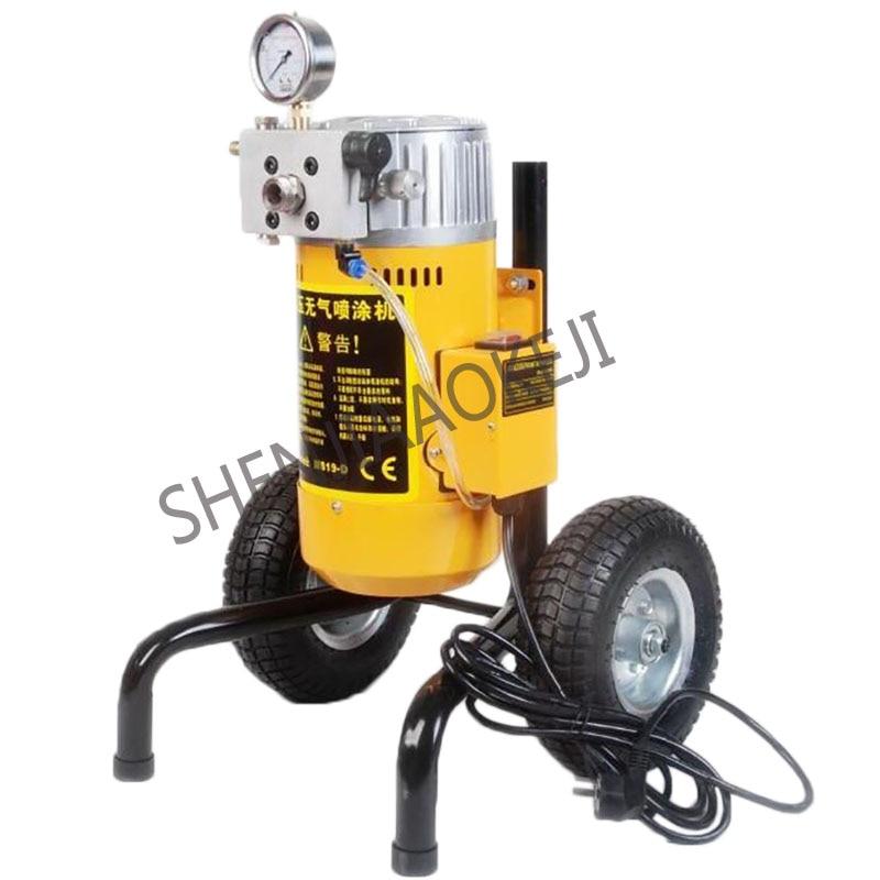 цена на Electric Spray Gun Paint Sprayer Pneumatic airless spray machine paint machine emulsion paint sprayer M819D