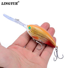 New 1pcs Fishing Lures 11cm/18g High Quality Crank Hard Baits Artificial Make Bass Crankbait Wobblers Fishing Tackle Wholesale