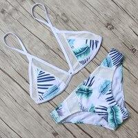 Mesh Swimwear Bikini Swimsuit Women Bikini Set 2016 Push Up Biquini Maillot De Bain Femme Beach