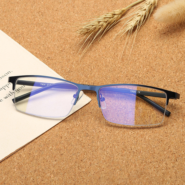 9cba631959 Vazrobe Computer Glasses Men Women Ultra-light Blocking Blue Light  Eyeglasses Rimless Gaming Work Eye Protect Anti Reflective