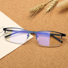 Vazrobe Computer Glasses Men Women Ultra-light Blocking Blue Light Eyeglasses Rimless Gaming Work Eye Protect Anti Reflective