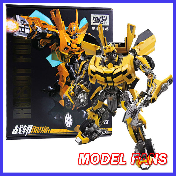 MODEL <font><b>FANS</b></font> Weijiang <font><b>Transformation</b></font> War Hornet M03 MP21 Battle Blades Movie Film 5 Edition Alloy Action Figure Collection <font><b>Toys</b></font> image